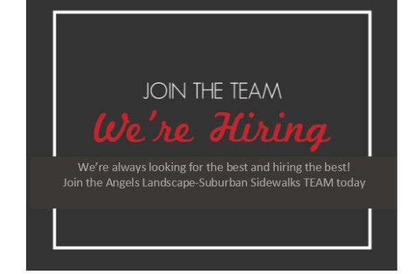 black banner we're hiring
